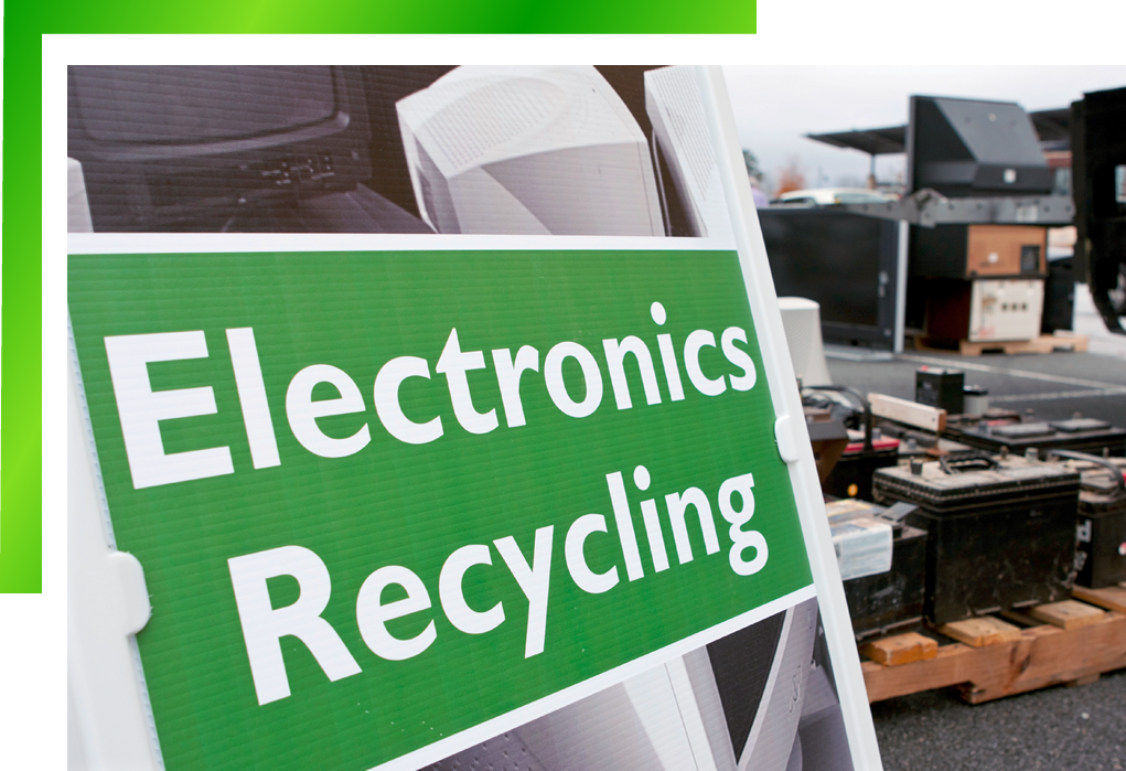 Onsite Electronics Recycling